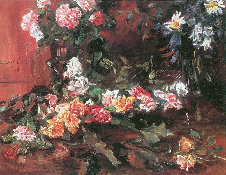 Painting of Roses.